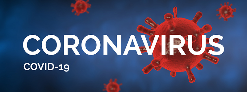 Coronavirus Resources Page Banner Graphic