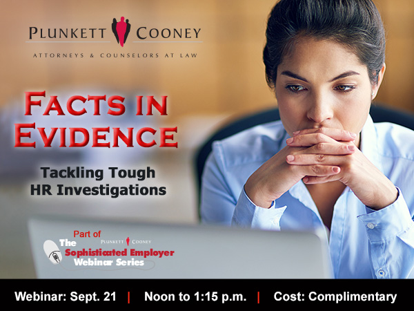 HR Investigations Employment Law Webinar