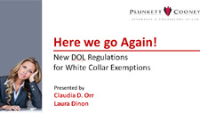 Here We Go Again DOL Update Webinar
