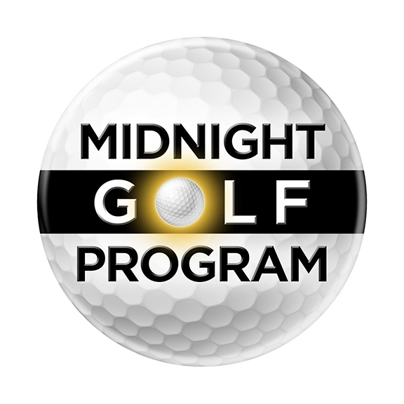 Midnight Golf Program Detroit Logo