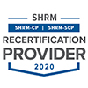 Approved provider logo for SHRM for 2020