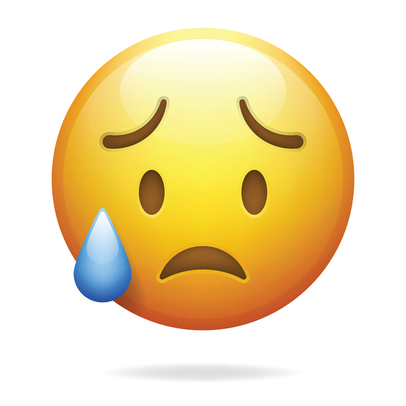 Sad Emoji Face