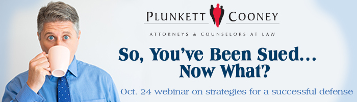 So You've Been Sued webinar