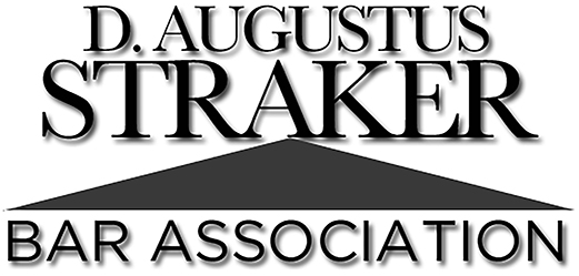D. Augustus Straker Bar Association Logo
