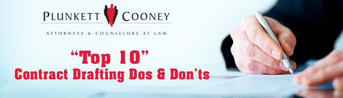 Contract Drafting Dos and Don'ts Webinar